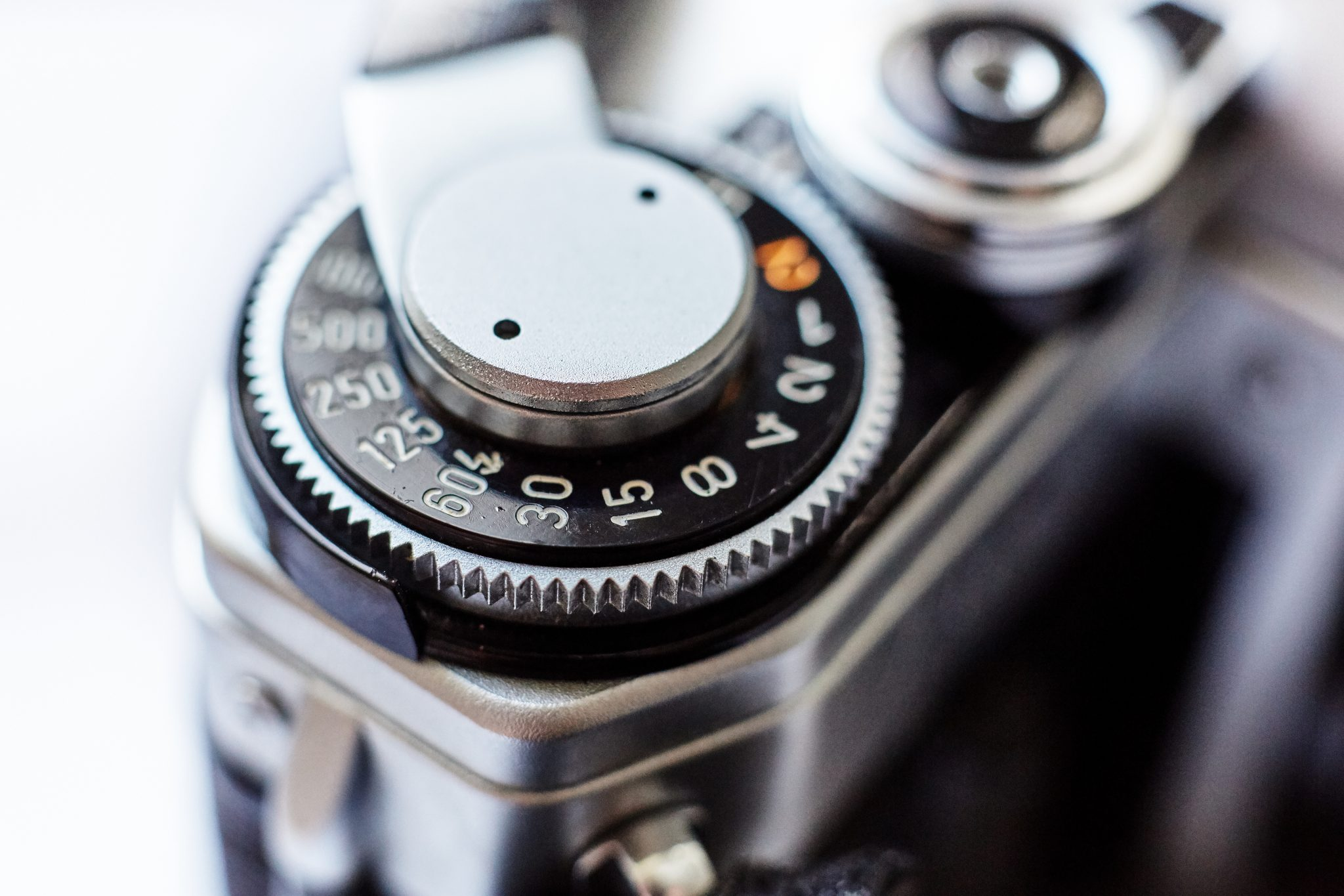 shutter speed dial canon ae1