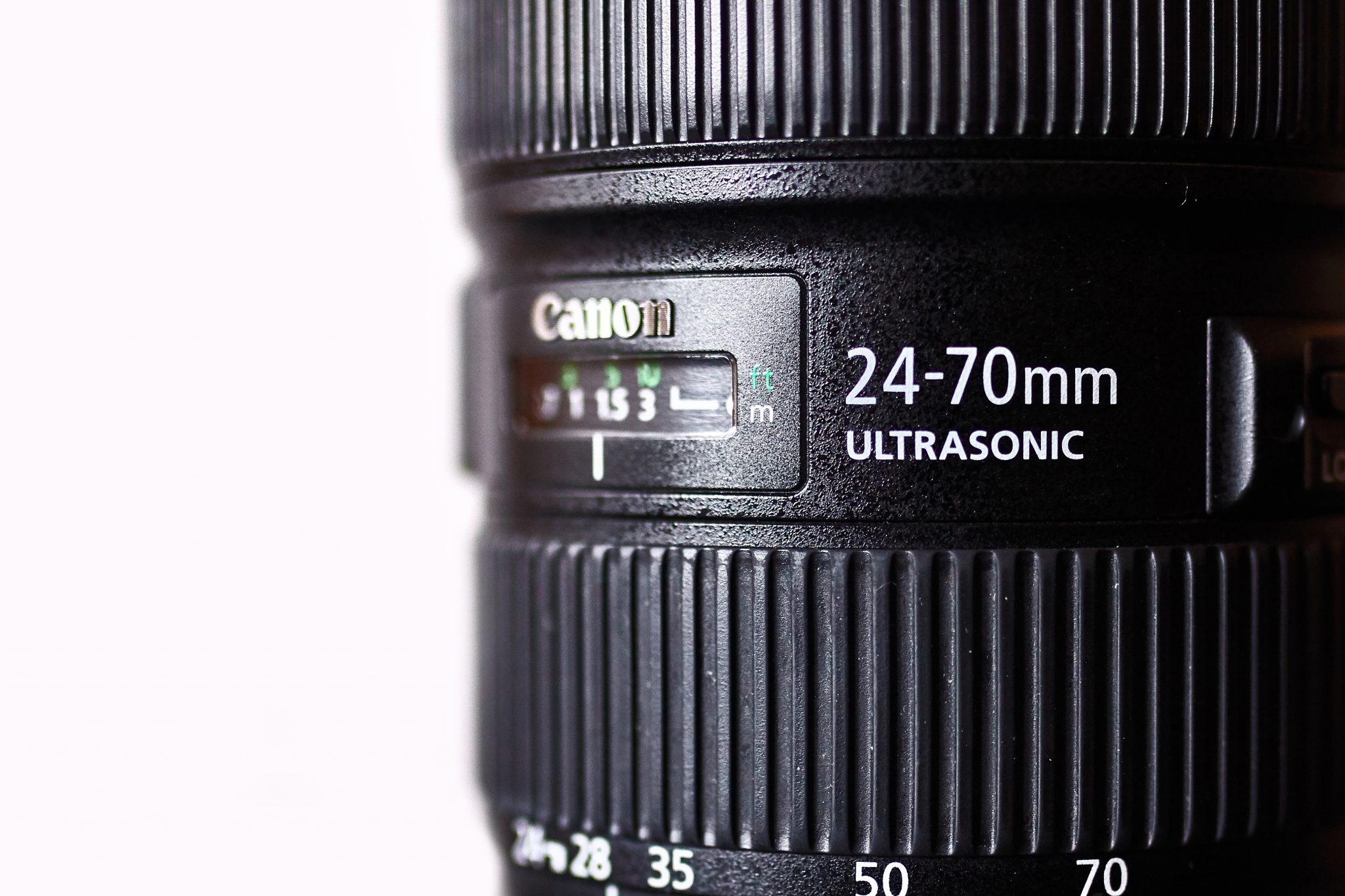 Ogniskowa obiektywu Canon 24-70 2.8 LII
